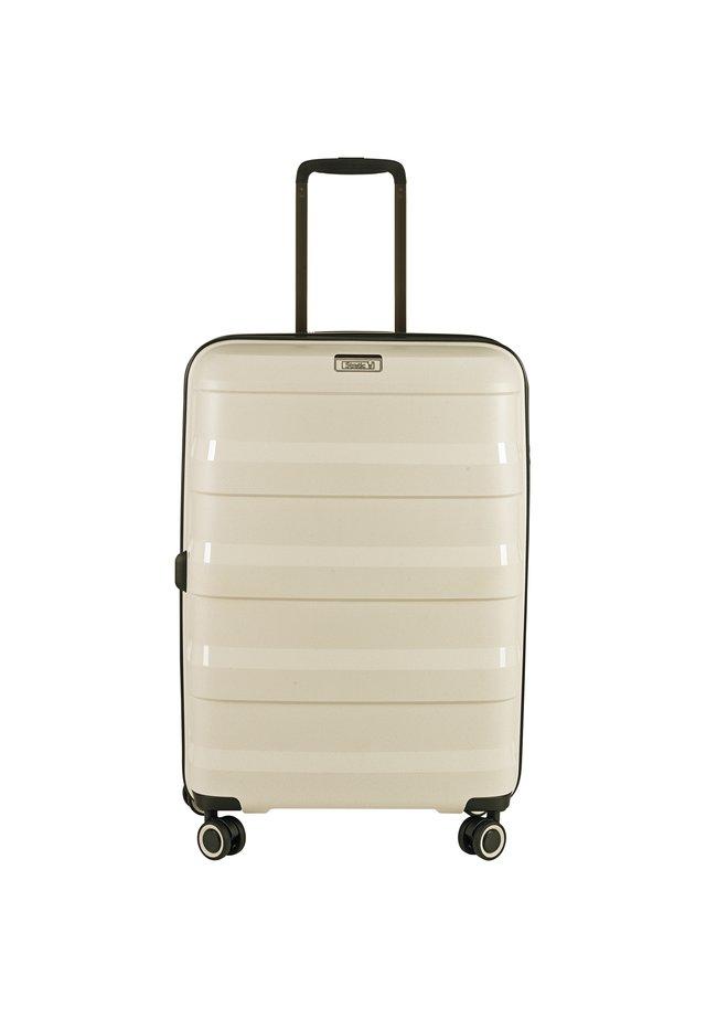 STRAW 4-ROLLEN TROLLEY  - Valise à roulettes - beige