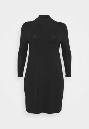 CARMALORCA LIFE KNEE DRESS - Shift dress - black