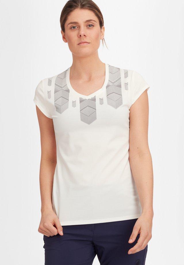 TROVAT - T-shirt z nadrukiem - bright white