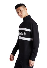 Timberland - CUT AND SEW FUNNEL NECK - Bluza - black