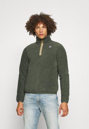 REGINALD UNISEX - Fleece jumper - dark green