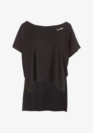 MCT010 ULTRA LIGHT - Print T-shirt - schwarz