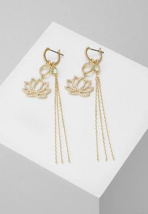 SYMBOL LOTUS - Earrings - gold-coloured