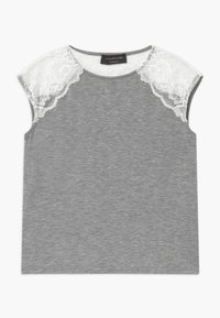 Rosemunde - BERLIN - Print T-shirt - light grey - 0