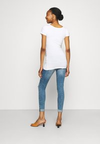 River Island Maternity - AMELIE MATERNITY ROLAND  - Jeans Skinny Fit - dark blue - 2
