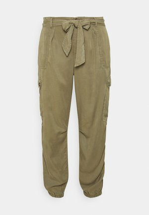 SOFT PANT - Cargo trousers - khaki