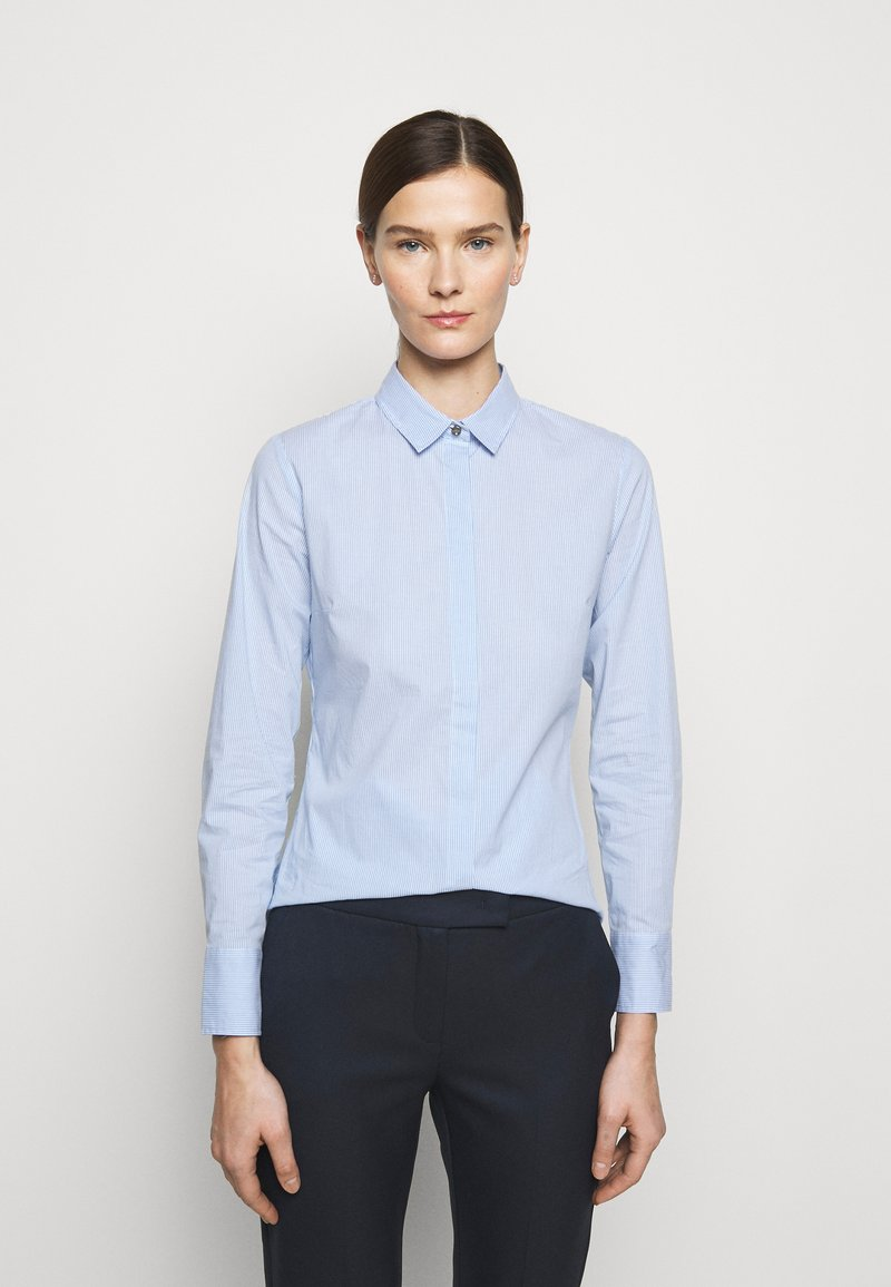 MAX&Co. - MESTRE - Button-down blouse - sky blue pattern