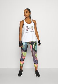 Under Armour - GEO KNOCKOUT TANK - Top - white - 1