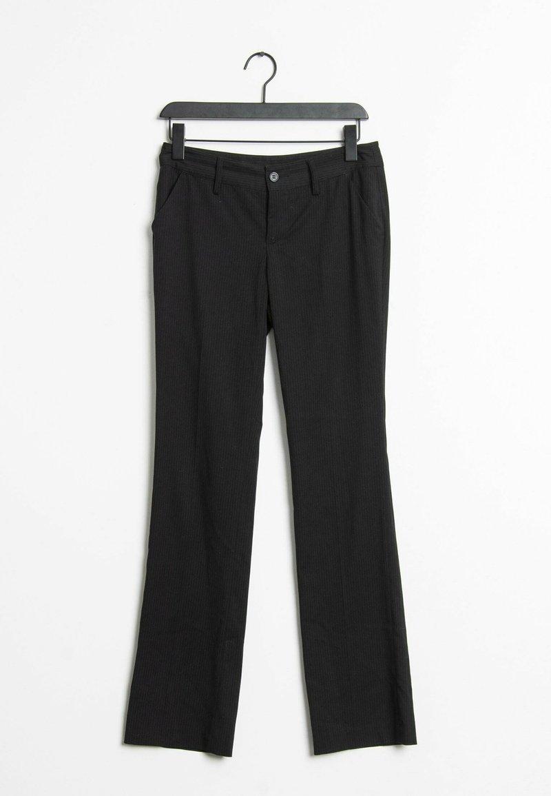 Sisley - Trousers - black