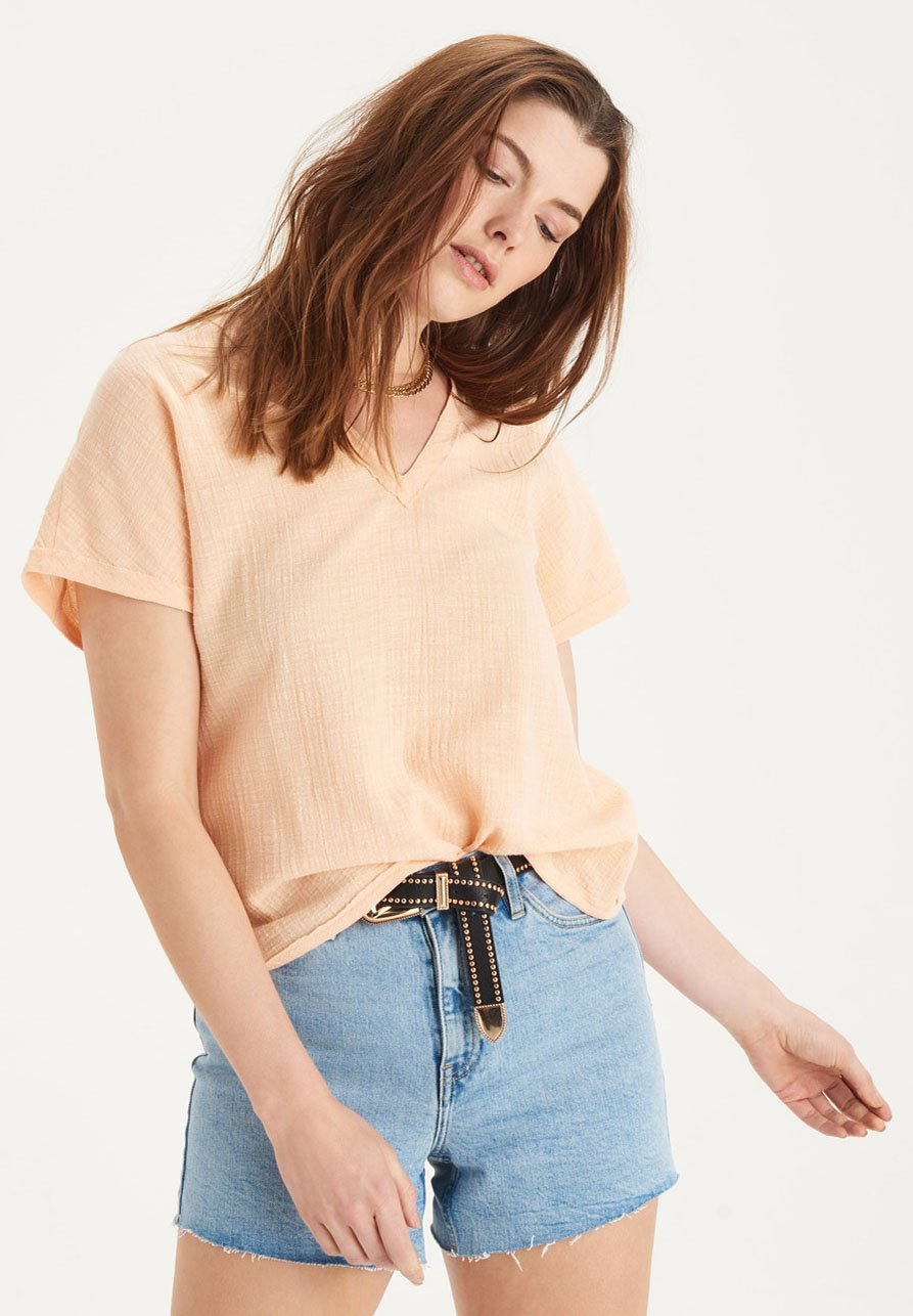 Donna MAY SHORTSLEEVE TOP - Camicetta