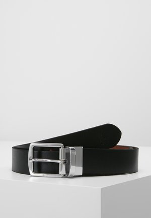 CASUAL - Belt - black/saddle