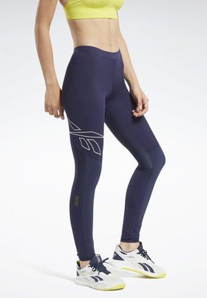 UNITED BY FITNESS COMPRESSION TIGHTS - Leggings - blue
