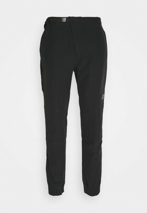 CROSS PANT - Tygbyxor - black