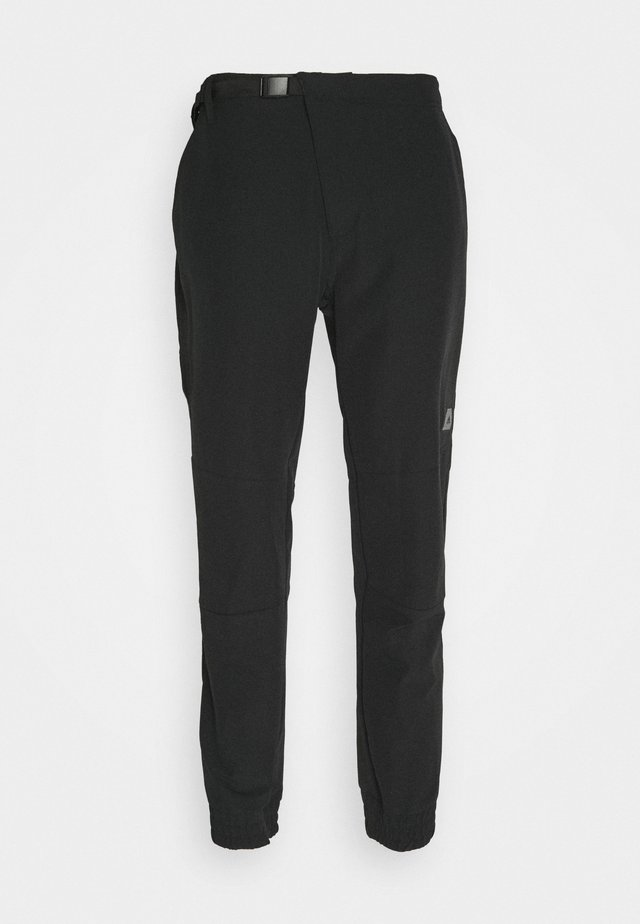 CROSS PANT - Kangashousut - black