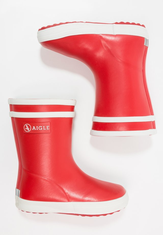 BABY FLAC UNISEX - Wellies - rouge new