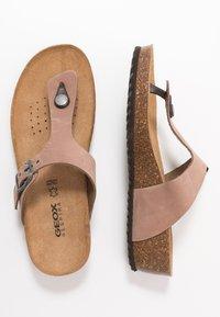 Geox - STHELLAE - Sandály s odděleným palcem - taupe - 3
