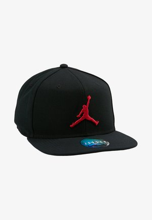 JORDAN PRO JUMPMAN SNAPBACK - Keps - black/gym red