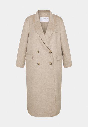 SLFTANJA COAT - Classic coat - sandshell
