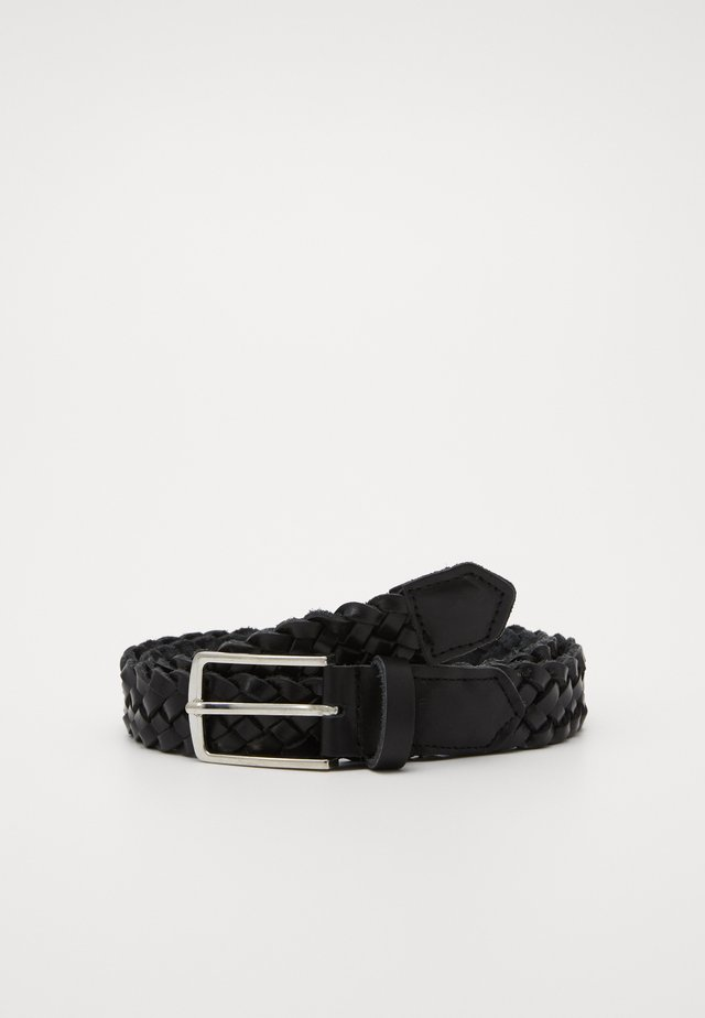 JACCOLE BRAIDED BELT - Belt - black