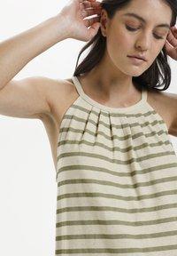 Lounge Nine - LNKYA  - Jersey dress - silver oat stripe - 2