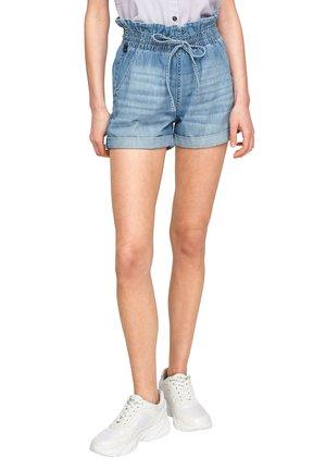 REGULAR FIT - Jeansshort - medium blue