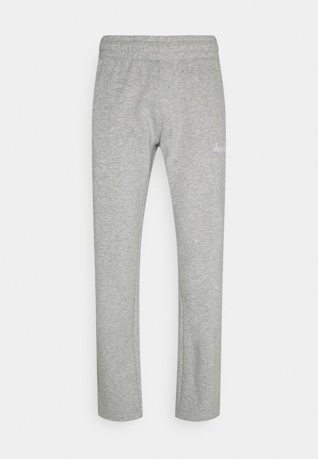 PANTS CORE - Teplákové kalhoty - light middle grey melange
