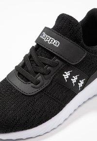 Kappa - MODUS II  - Gym- & träningskor - black/white - 2