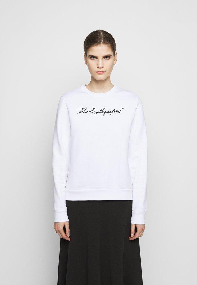 SIGNATURE - Sweatshirt - white