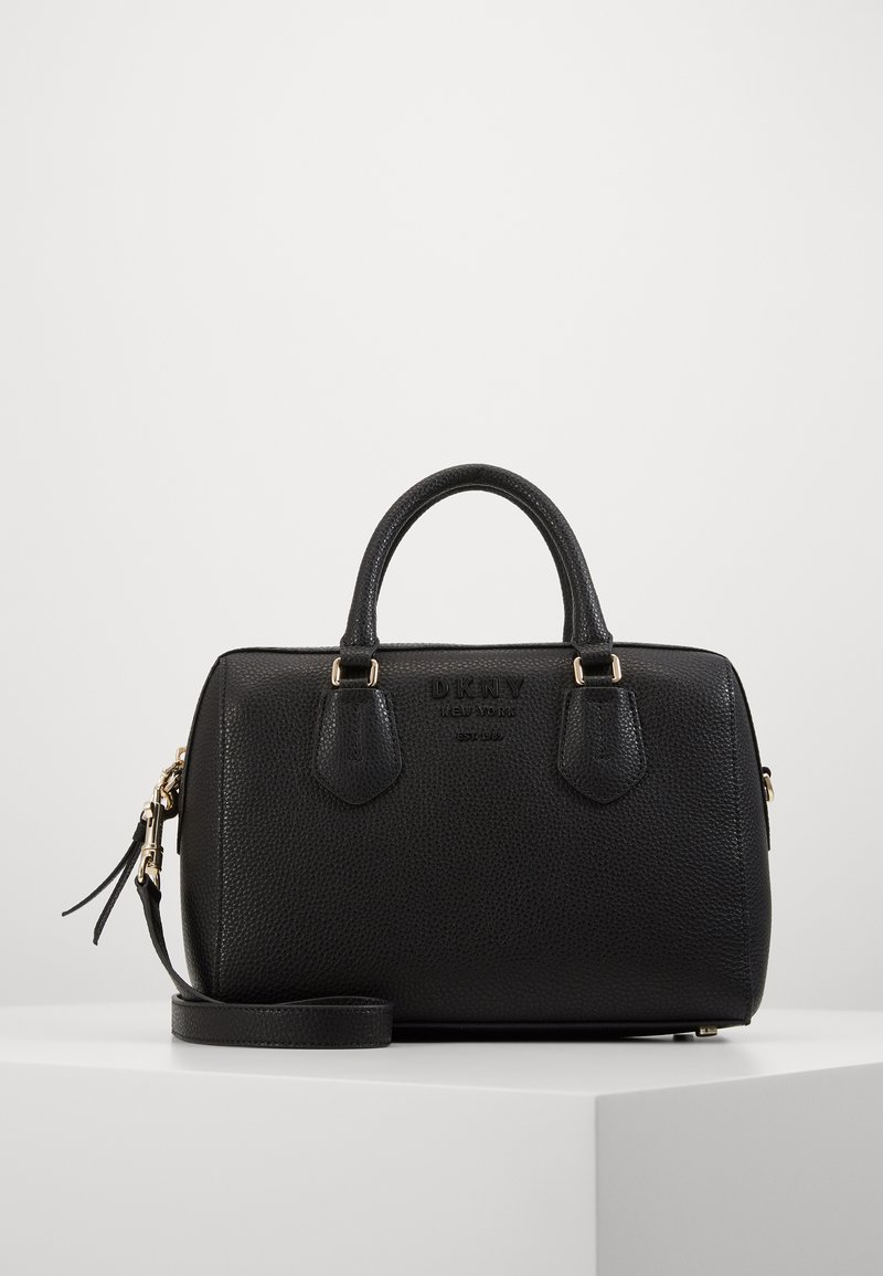 DKNY - NOHO MEDIUM SPEEDY SATCHEL - Handbag - black