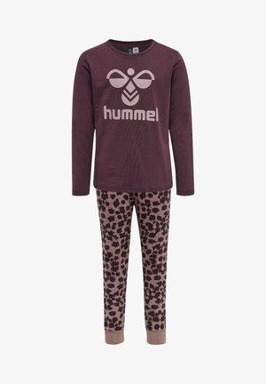 CAROLINA SET - Pyjama set - fudge