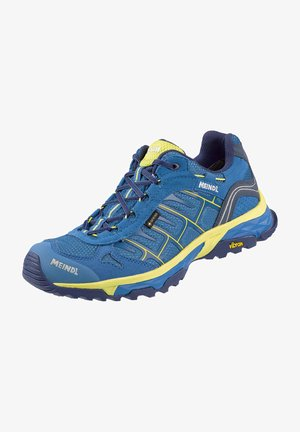 Walking shoes - blau/gelb