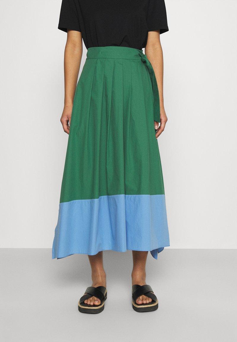 WEEKEND MaxMara - OBLARE - Pleated skirt - gruen