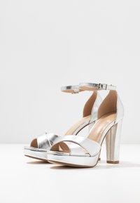 Anna Field - Sandaler med høye hæler - silver - 4