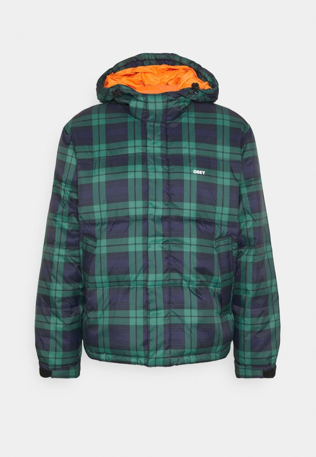 FELLOWSHIP PUFFER JACKET - Giacca invernale - navy multi