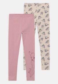 Staccato - DISNEY BAMBI 2 PACK - Leggings - light pink/beige - 0