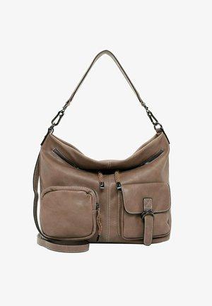 LISSY - Handbag - taupe