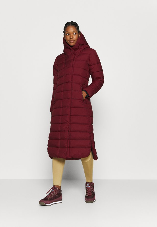 STELLA COAT  - Winter coat - velvet red