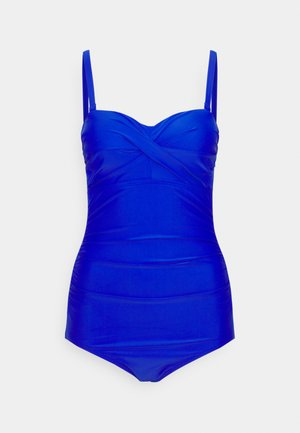 SANTA MONICA STRAPLESS CONTROL SWIMSUIT - Swimsuit - ultramarine