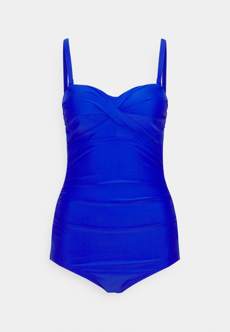 Pour Moi - SANTA MONICA STRAPLESS CONTROL SWIMSUIT - Swimsuit - ultramarine