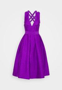 Mossman - HEAD OVER HEELS DRESS - Cocktail dress / Party dress - purple - 0