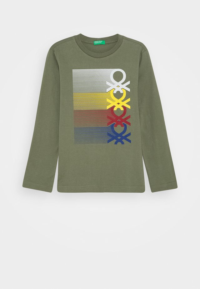 BASIC BOY - Long sleeved top - khaki