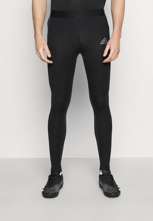 TECH FIT LONG - Punčochy - black