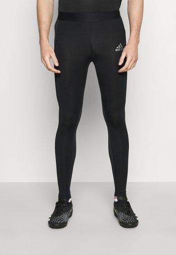 TECH FIT LONG - Leggings - black