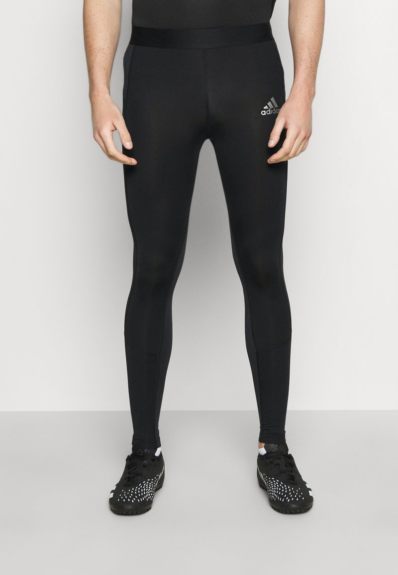 adidas Performance - TECH FIT LONG - Medias - black