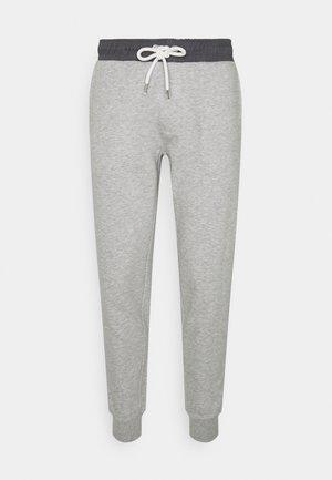 NESLADE PANTS - Teplákové kalhoty - grey melange