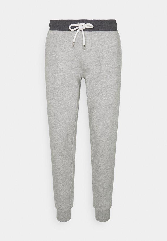 NESLADE PANTS - Verryttelyhousut - grey melange
