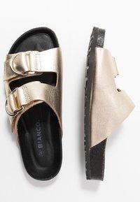 Bianco - BIABETRICIA  - Slippers - gold - 3