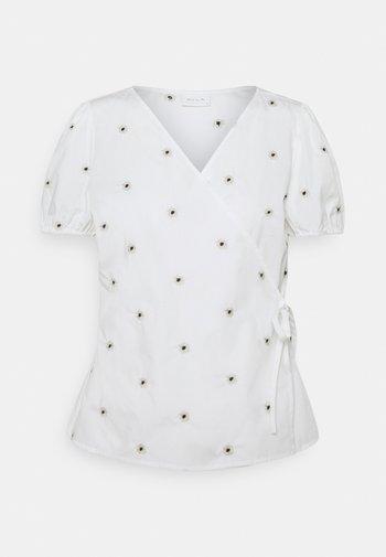 VIDITSY WRAP - Print T-shirt - cloud dancer