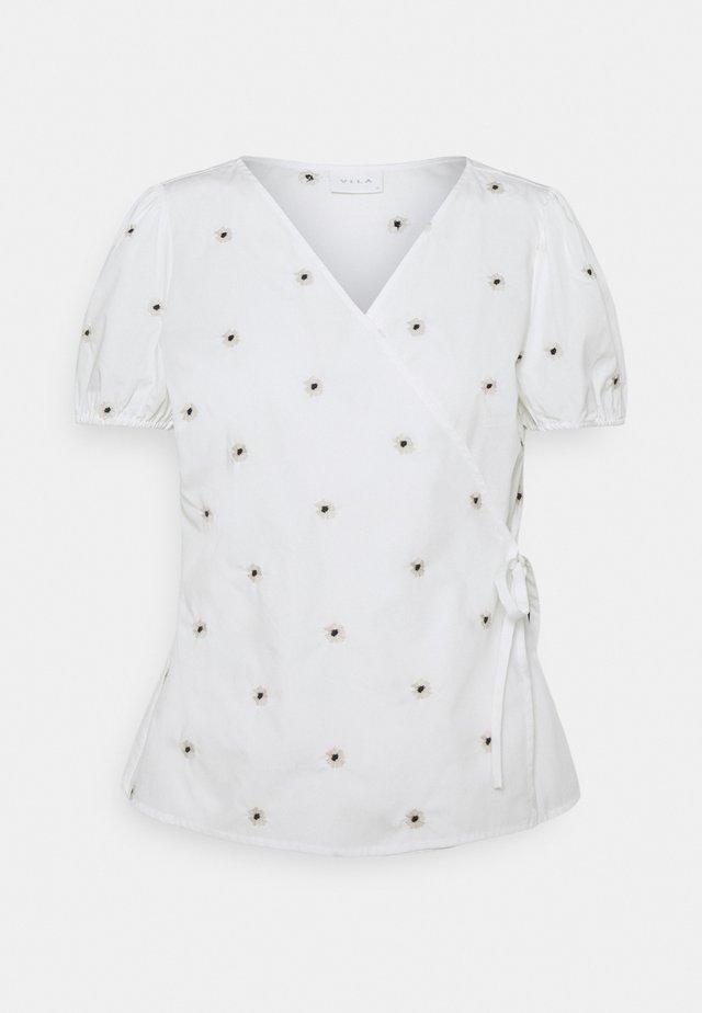 VIDITSY WRAP - T-shirts print - cloud dancer
