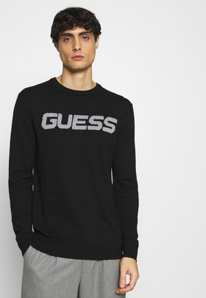 LOGO - Jumper - jet black